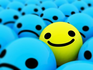 pallina che sorride