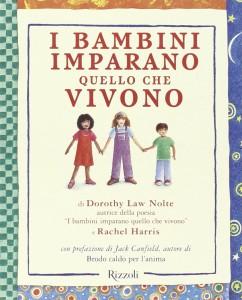 Libro i bambini imparano quello che vivono