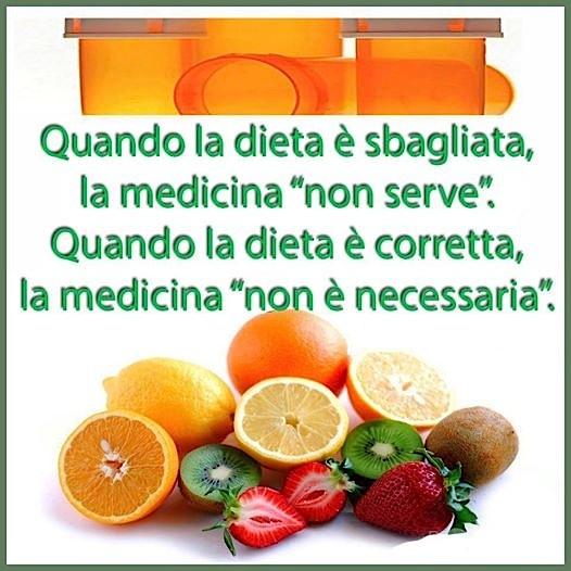 frase cibi-medicine Salute