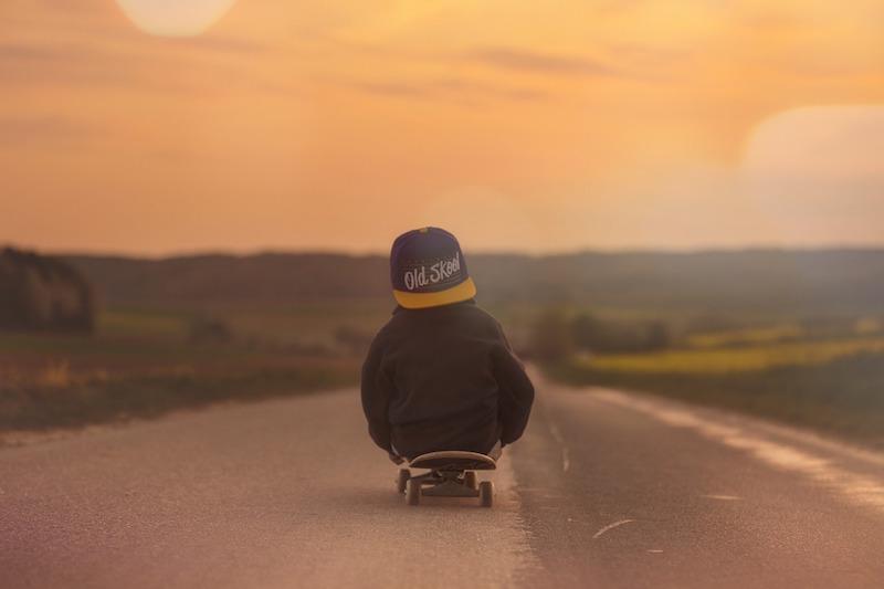bambino skateboard