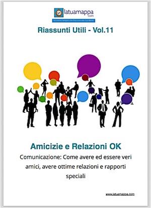 Copertina Amicizie e relazioni ebook