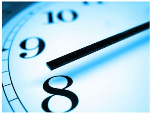 orologio più efficaci e produttivi -orologio blu