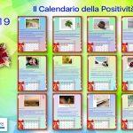 Il Calendario 2019 della Positività